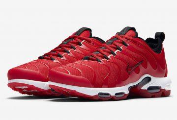海外展開中★ Nike Air Max Plus TN Ultra University Red/Black-White  898015-600 (ナイキ エアマックス プラス)