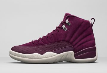 "MOVIE追記★ 10月14日発売★ NIKE Air Jordan 12 ""Bordeaux"" Bordeaux/Metallic Silver-Sail 130690-617 (ナイキ エアジョーダン 12 ""ボルドー"")"