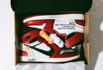詳細画像追記★9月1日発売★OFF-WHITE x Air Jordan 1 Retro High OG 10X  White/Black-Varsity Red AA3834-101  (オフホワイト×ナイキ エアジョーダン1)
