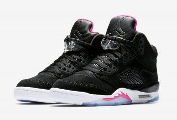 8月5日発売★検索リンク★ NIKE Air Jordan 5 GS  Black/Deadly Pink-White  440892-029 (ナイキ エアジョーダン 5 GS)