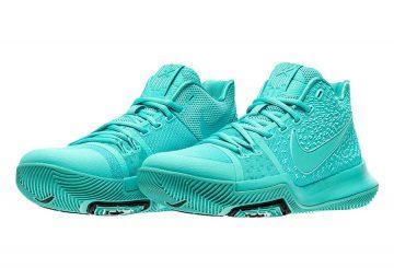 8月19日発売★ Nike Kyrie 3 Aqua/Aqua-Black  852395-401 (ナイキ カイリー3)
