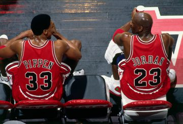 MOVIE★ Michael Jordan and Scottie Pippen Reunite on the Basketball Court