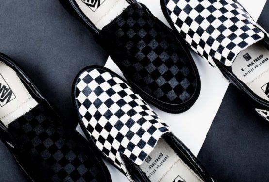 8月11日発売★N.HOOLYWOOD X VANS SLIP-ON PACK  ( エヌ・ハリウッド × バンズ スリッポン パック )