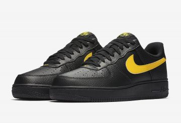 近日発売★ Nike Air Force 1 07 LV8 Low  Black/Amarillo  AA4083-002 (ナイキ エアフォース1 LOW)
