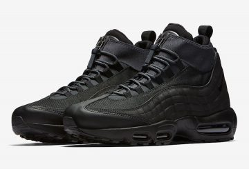 "Nike Air Max 95 Sneakerboot ""Triple Black""  Black/Black-Black 806809-001 (ナイキ エアマックス 95 スニーカーブーツ)"