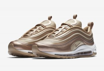 "近日発売★ NIKE WMNS AIR MAX 97 ULTRA ""Metallic Red Bronze""  Metallic Red Bronze/White-Gum Light Brown 917704-902 (ナイキ ウィメンズ エアマックス97 )"