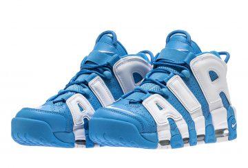 検索リンク追記★9月1日発売★ Nike Air More Uptempo University Blue/White 921948-401 (ナイキ エア モアアップテンポ )
