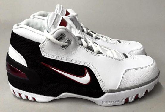 9月9日発売★ Nike Air Zoom Generation QS  White/White-Varsity Crimson-Black  AJ4204-101