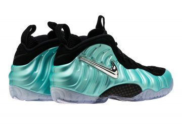 9月8日発売★MOVIE★Nike Air Foamposite Pro Island Green/Metallic Platinum  624041-303