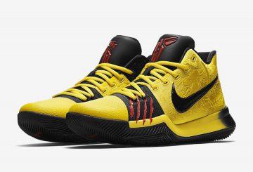 """9月15日発売★ Nike Kyrie 3 """"Mamba Mentality"""" Tour Yellow/Black AJ1692-700 (ナイキ カイリー3 """"マンバメンタリティー"""")"""