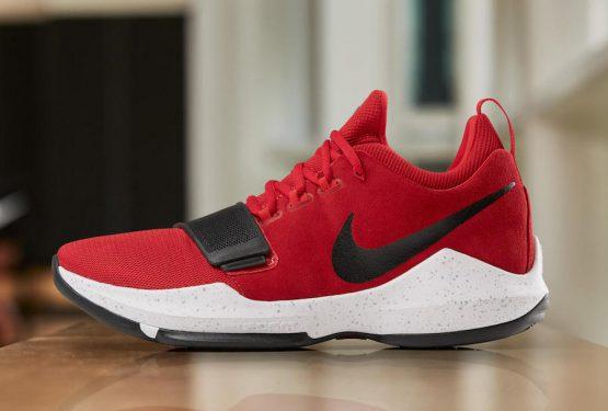 8月19日発売★ Nike PG 1 EP  University Red/White-Black 878628-602