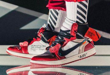 9月1日発売★ OFF-WHITE x Nike and Jordan Footwear Collection