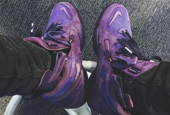 """MOVIE★リーク★ Ronnie Fieg x Nike Air Maestro """"TRIBUTE TO SCOTTIE PIPPEN'S COLLEGE DAYS"""" (ロニー ファイグ × ナイキ エアマエストロ)"""