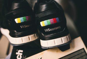 8月5日発売★ THE GOOD WILL OUT X SAUCONY SHADOW 5000 VHS BLACK / WHITE / MULTI  S703851 (ザ グッド ウィル アウト × サッカニー シャドウ 5000)