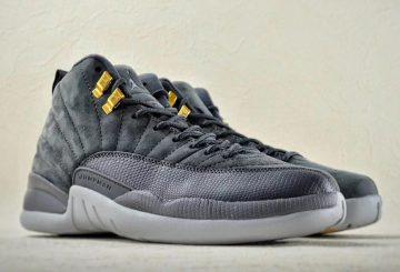 10月発売予定★NIKE Air Jordan 12 Dark Grey/Dark Grey-Wolf Grey Style  130690-005 (ナイキ エアジョーダン 12 )
