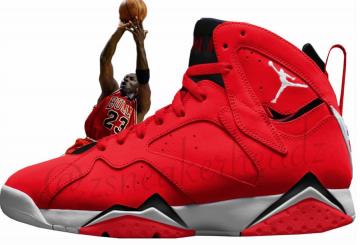 """1月6日発売★ NIKE Air Jordan 7 """"Fadeaway""""  (ナイキ エアジョーダン 7 """"フェイドアウェイ"""")"""