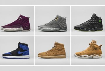 JORDAN BRAND 2017 HOLIDAY LINEUP