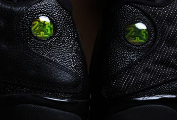 "11月24日発売★ NIKE Air Jordan 13 ""Altitude"" Black/Altitude Green  (ナイキ エアジョーダン 13)"
