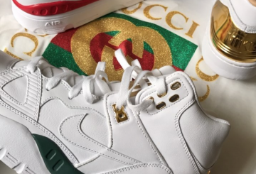 """Don C × NIKE AIR FORCE COLLECTIONS """"GUCCI"""""""
