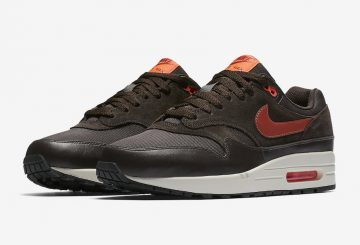 ★ Nike Air Max 1 Premium Brown/Orange  875844-202 (ナイキ エアマックス 1)