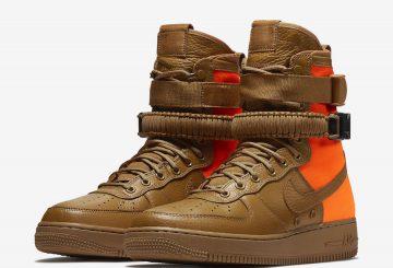 9月29日発売★ Nike SF-AF1 Mid Desert Ochre/Desert Ochre-Total Orange  903270-778 (ナイキ スペシャル フィールド エアフォース1  )