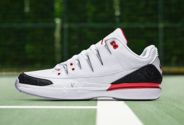 9月28日発売★NIKE ZOOM VAPOR RF AJ3 WHITE/FIRE RED-SILVER-BLACK 709998-106  (ナイキ ズーム ヴェイパー RF AJ3)