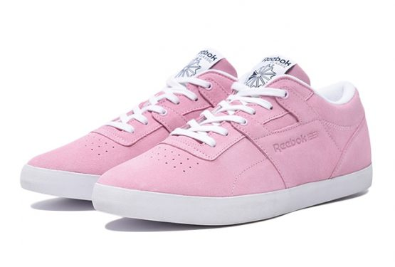 "発売開始★ REEBOK WORKOUT CLEAN FVS BILLYS ""BLUSHY PINK""   PNK/NVY/WHT  (リーボック  ワークアウト クリーン)"