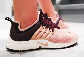 海外展開中★ NIKE AIR PRESTO  Port Wine/Summit White/Black/Particle Pink 878068-604/small (エア プレスト)
