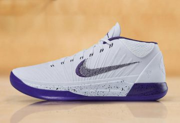 "動画★10月28日発売★ Nike Kobe AD Mid ""Sunday's Best"" White/Court Purple-Black 922482-100"