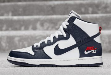 11月2日発売★ 2 COLORS ★ Nike SB Dunk High Pro  Obsidian/Obsidian-White-University Red   ・ University Red/University Red 【ナイキ SB ダンク HI】