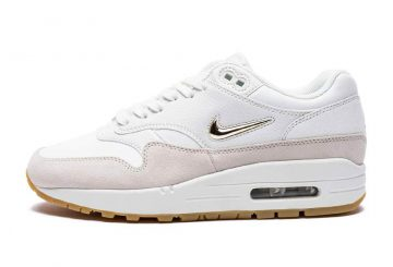 全3色★レディース★ NIKE WMNS AIR MAX 1 SC JEWEL  Summit White/Metallic Gold Star-Light Bone  AA0512-100       Wolf Grey/Metallic Pewter/Deep Pewte/White  AA0512-002