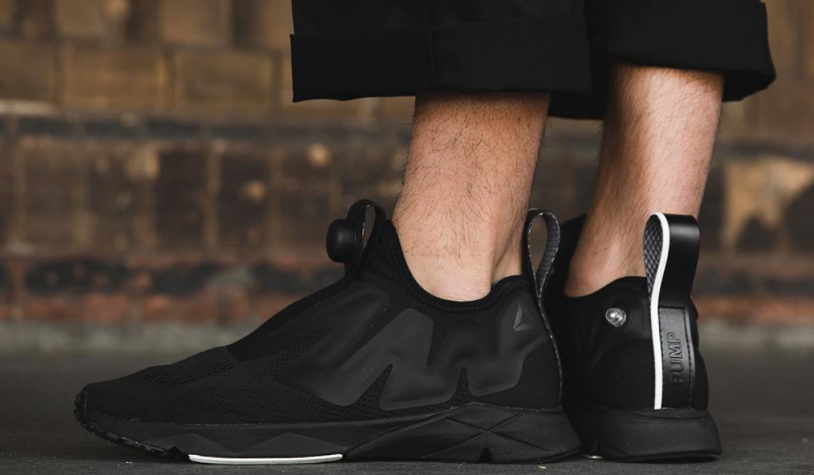Reebok Pump Supreme Engine  Black / Chalk CN2189