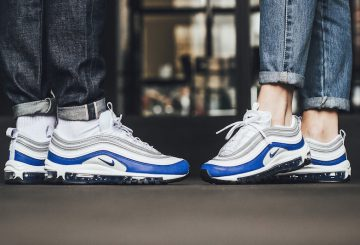 海外展開中★ユニセックス★Nike WMNS AIR MAX 97 921733-101 White/Game Royal-Neutral Grey