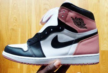 11月発売★NIKE Air Jordan 1 Retro High OG NRG White/Rust Pink/Black 861428-101  (ナイキ エアジョーダン1)