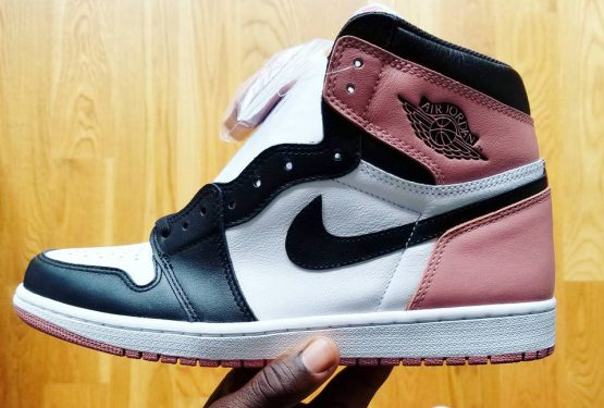 11月発売★NIKE Air Jordan 1 Retro High OG NRG White/Rust Pink/Black 861428-101  (ナイキ エアジョーダン1)