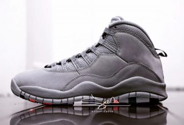 1月発売予定★NIKE Air Jordan 10 Cool Grey Cool Grey/White-Cool Grey 310805-022 (ナイキ エアジョーダン 10)