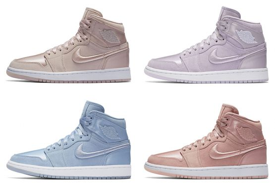 "11月25日発売★ 4colors★ NIKE AIR JORDAN 1 RETRO ""SUMMER OF HIGH"" RELEASE DATE: NOVEMBER 25TH, 2017 SILT RED/WHITE-METALLIC GOLD BARELY GRAPE/WHITE-METALLIC GOLD HYDROGEN BLUE/WHITE-METALLIC GOLD SUNSET TINT/WHITE-METALLIC GOLD"