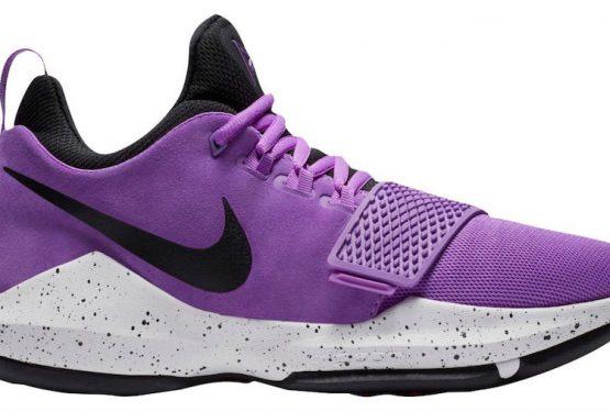 OKC動画追記★12月Nike PG 1 Bright Violet/Black-White-Total Orange 878627-500 (ナイキ PG1)