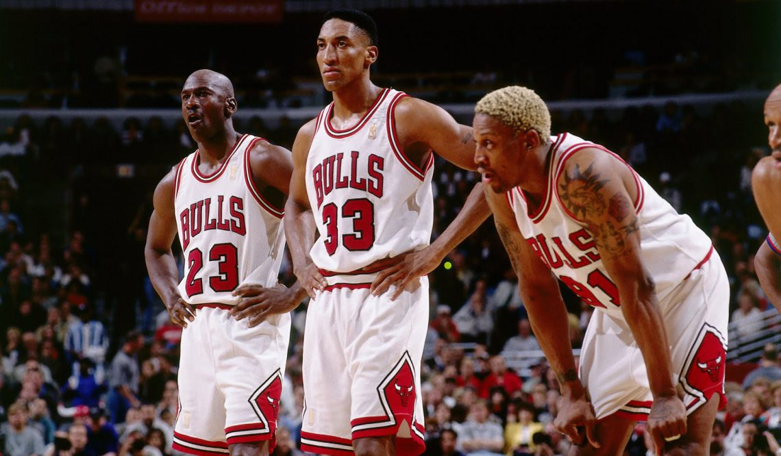 """動画★ 1996 CHICAGO BULLS """"ROAD TO 72 WINS"""""""