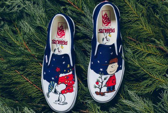 """検索リンク★11月24日★Vans Slip-On Peanuts """"Charlie Brown Christmas"""" (バンズ スリッポン """"ピーナッツ チャーリーブラウン クリスマス"""""""