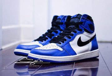 2018年2月発売予定★ NIKE AIR JORDAN 1 RETRO HIGH OG  Game Royal/Summit White-Black  555088-403