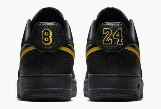 動画★ 12月18日発売★  Nike Air Force 1 Low Black Mamba for Kobe Bryant's Jersey Retirement