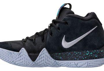 12月20日発売★ Nike Kyrie 4  Black/White-Anthracite-Light Racer Blue  943806-002  (ナイキ カイリ― 4)