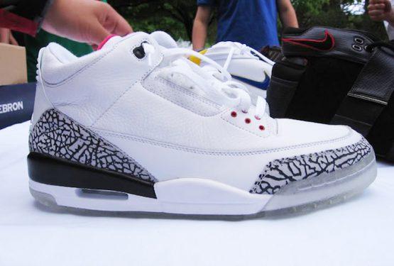 動画★2月14日発売★ NIKE Air Jordan 3 All-Star NRG White/Fire Red-Cement Grey Black 923096-101  (ナイキ エアジョーダン3 )