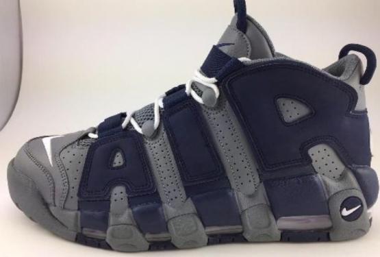 8月1日発売★ Nike Air More Uptempo Cool Grey/White-Midnight Navy Style 921948-003  (ナイキ モアアップテンポ)