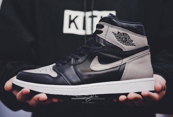 "動画★ 4月14日発売★ NIKE Air Jordan 1 Retro High OG ""Shadow""  Black/Medium Grey-White  555088-013 (ナイキ エアジョーダン1)"