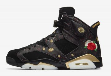 動画★検索リンク追記★ 1月13日発売★ NIKE AIR JORDAN 6 RETRO CNY BLACK/MULTI-COLOR/SUMMIT WHITE-METALLIC GOLD  AA2492-021 (ナイキ エアジョーダン6)