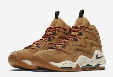 """検索リンク追記★動画★ 1月26日発売★ Nike Air Pippen 1 """"Wheat"""" Desert Ochre/Velvet Brown-Fossil-Total Orange 325001-700 (ナイキ エアピッペン 1)"""