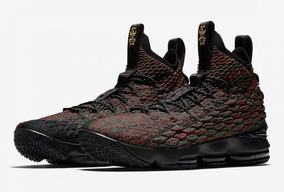 1月15日発売★ Nike LeBron 15 BHM   Multi-Color/Multi-Color  AA3857-900 (ナイキ レブロン 15 BHM)