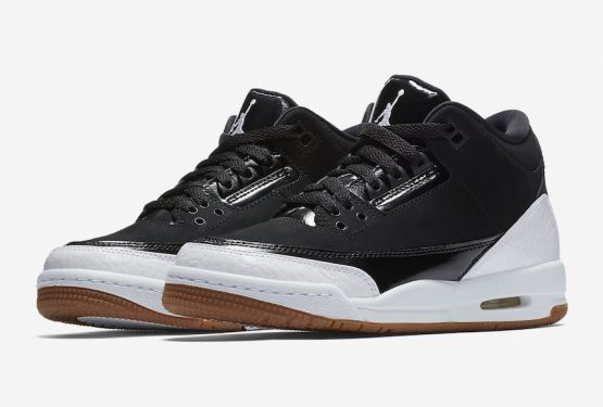 2月24日発売★ NIKE AIR JORDAN 3 RETRO GG BLACK/WHITE-GUM MEDIUM BROWN (441140-022) (ナイキ エアジョーダン  3)